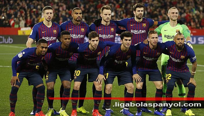 Barcelona Masih Dipuncak Klasemen Liga Spanyol