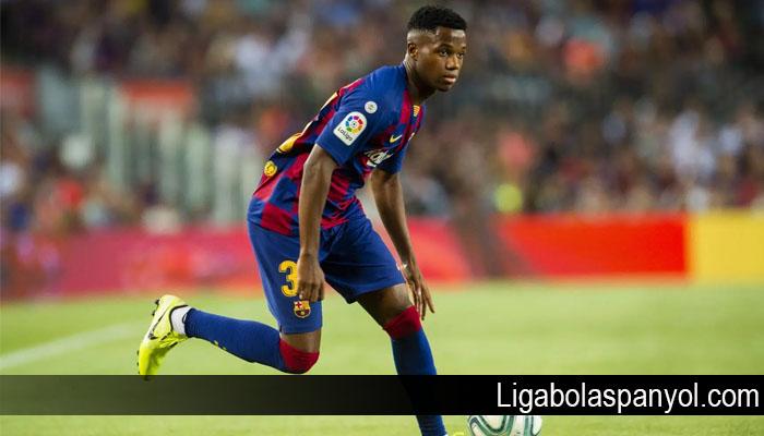 Pemain Muda Ansu Fati Pecahkan Rekor Pencetak Gol Termuda Barcelona