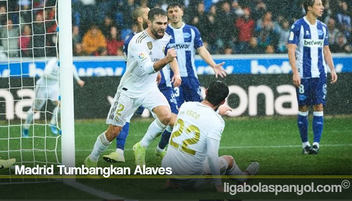 Madrid Tumbangkan Alaves