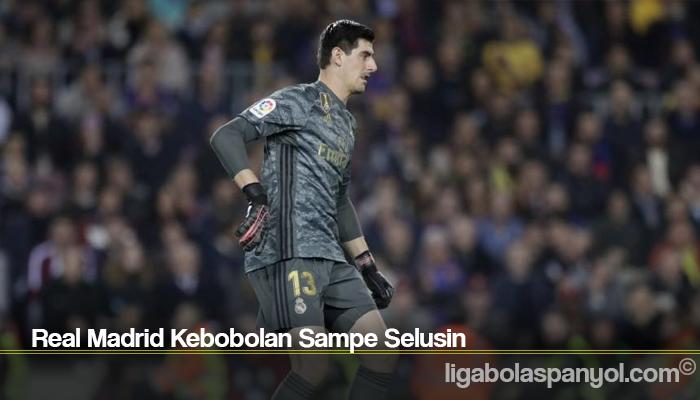 Real Madrid Kebobolan Sampe Selusin