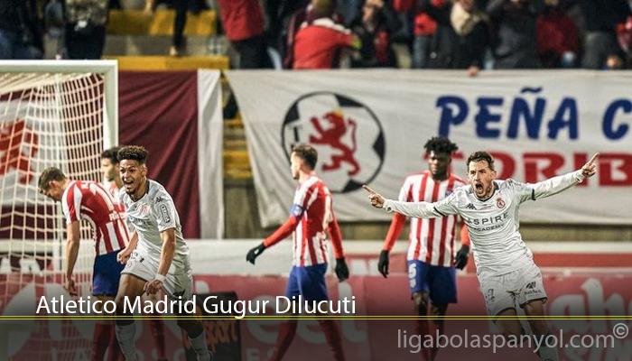 Atletico Madrid Gugur Dilucuti