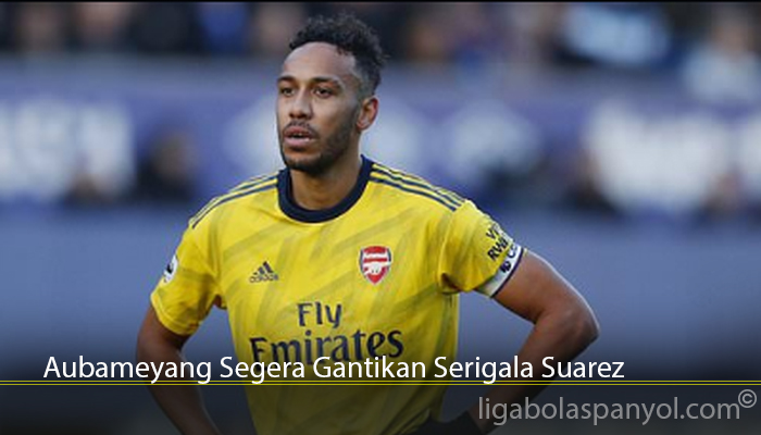 Aubameyang Segera Gantikan Serigala Suarez