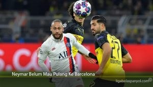 Neymar Belum Mau Pulang Ke Barcelona