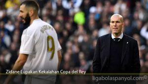Zidane Lupakan Kekalahan Copa del Rey