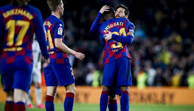 Pemain Barcelona Bungkam Levante