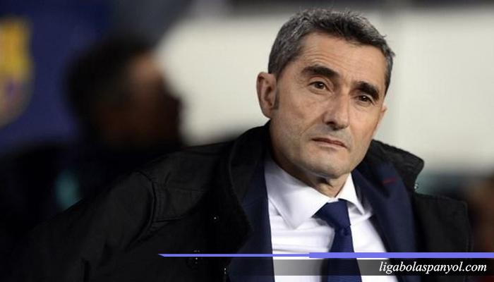 Kontrak Ernesto Valverde dengan Barcelona