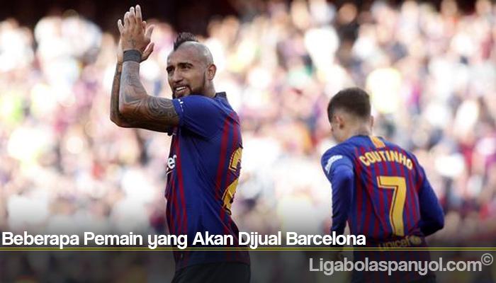 Beberapa Pemain yang Akan Dijual Barcelona