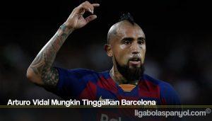 Arturo Vidal Mungkin Tinggalkan Barcelona