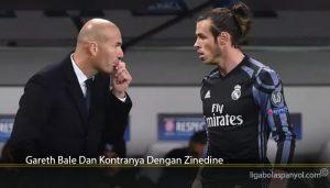 Gareth Bale Dan Kontranya Dengan Zinedine